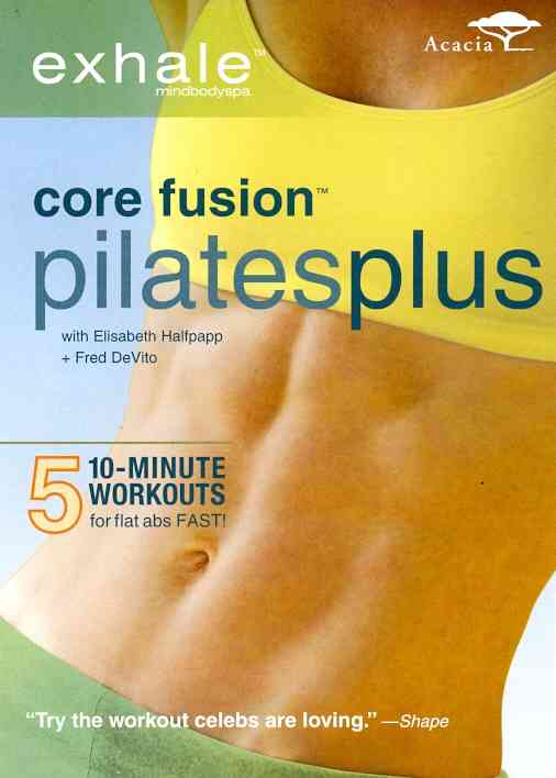EXHALE:CORE FUSION PILATES PLUS BY DEVITO,FRED (DVD)